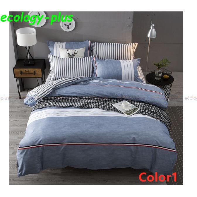 ベッドカバー 寝具3点セット シングル 枕カバー 無地 布団カバー 北欧風 柔らかい 可愛い 洋式和式兼用 防ダニ 洗える 選べる4色 2020新作|ecology-plus