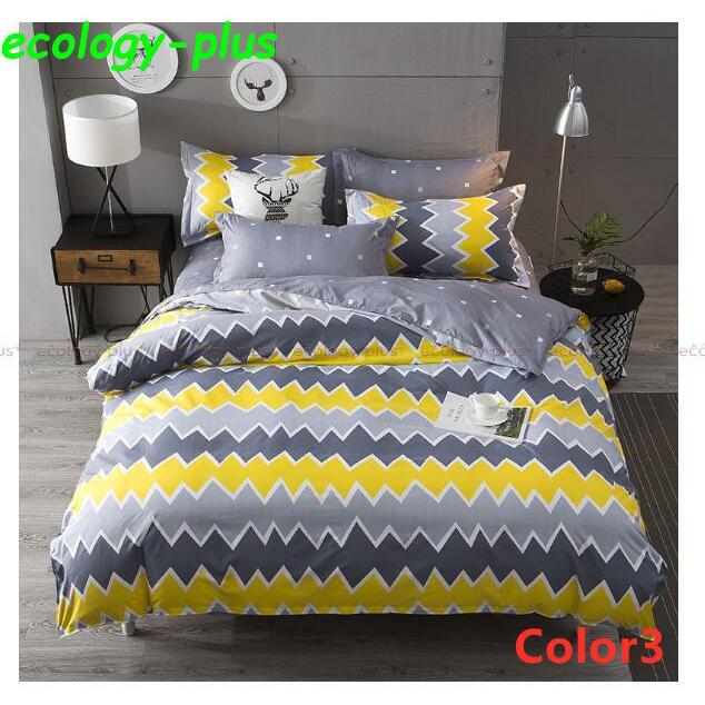 ベッドカバー 寝具3点セット シングル 枕カバー 無地 布団カバー 北欧風 柔らかい 可愛い 洋式和式兼用 防ダニ 洗える 選べる4色 2020新作|ecology-plus|03
