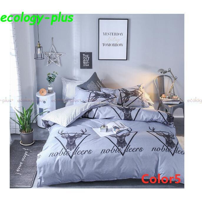 ベッドカバー 寝具3点セット シングル 枕カバー 無地 布団カバー 北欧風 柔らかい 可愛い 洋式和式兼用 防ダニ 洗える 選べる4色 2020新作|ecology-plus|05