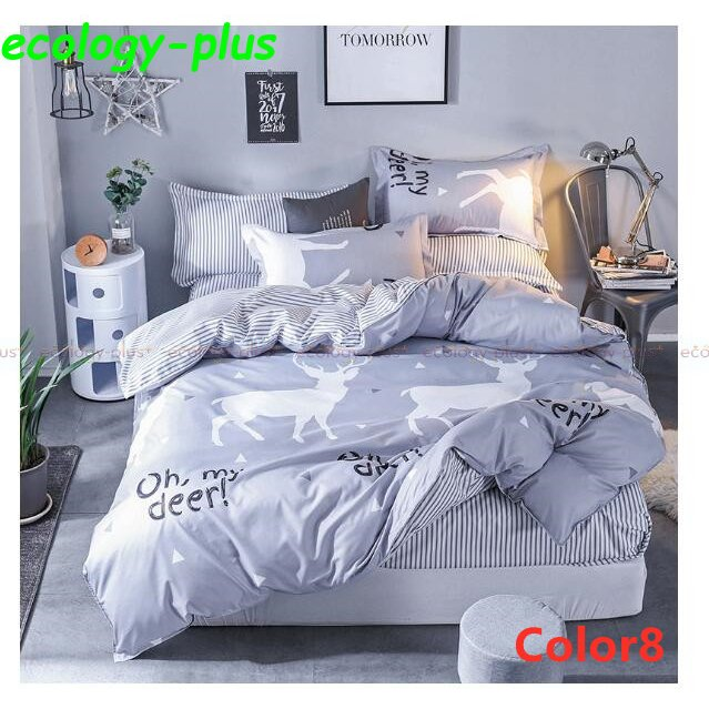 ベッドカバー 寝具3点セット シングル 枕カバー 無地 布団カバー 北欧風 柔らかい 可愛い 洋式和式兼用 防ダニ 洗える 選べる4色 2020新作|ecology-plus|08