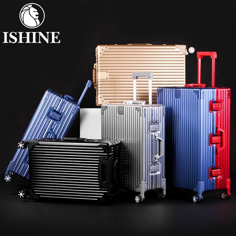 100%本物保証! アルミ製スーツケース 全金属製トランク 旅行用品 全4色 キャリーバッグ 29インチ キャリーケース アルミ合金ボディ YT02−b, 『2年保証』 6d96e19c