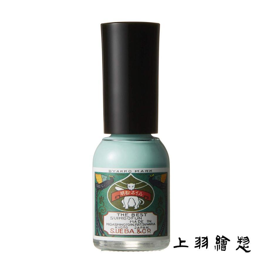 胡粉ネイル ミントアイス(d5/上羽絵惣 マニキュル ネイル ネイルポリッシュ/4571285131025)