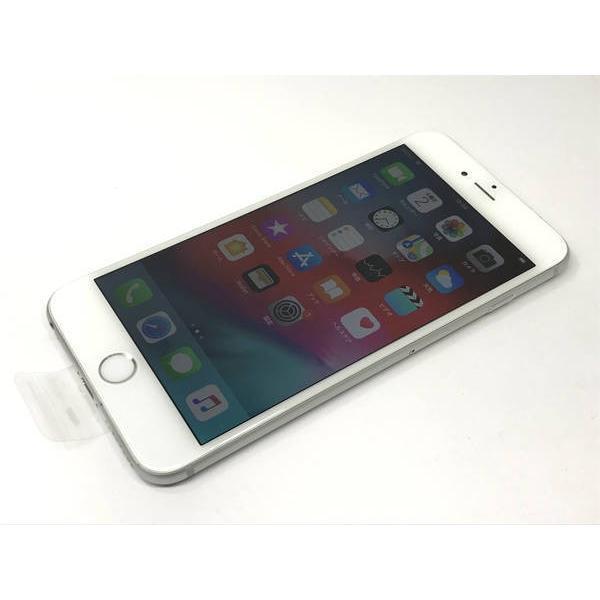au iPhone6 Plus 128GB シルバー バッテリー正規新品交換済み|ecomoshinshimonoseki|02