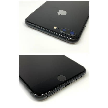 au iPhone8 Plus 256GB スペースグレイ 電池95% SIMロック解除済 ecomoshinshimonoseki 03
