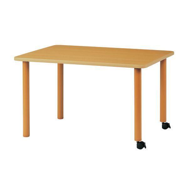 ハイアジャスターテーブル(キャスター脚) 幅1500×奥行900mm (国産) HAK-K1590