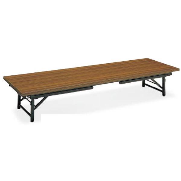コクヨ 会議用テーブル〈KT-L30シリーズ〉 和・洋共用タイプ 脚折りたたみ式 1800×450mm 質量20kg KT-L30NN KT-L30NN