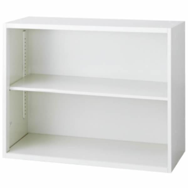 L6 オープン保管庫 オープン保管庫 幅900×奥行450×高さ720mm 上置き・下置き 可動式棚板1枚 (648-271) L6-70E