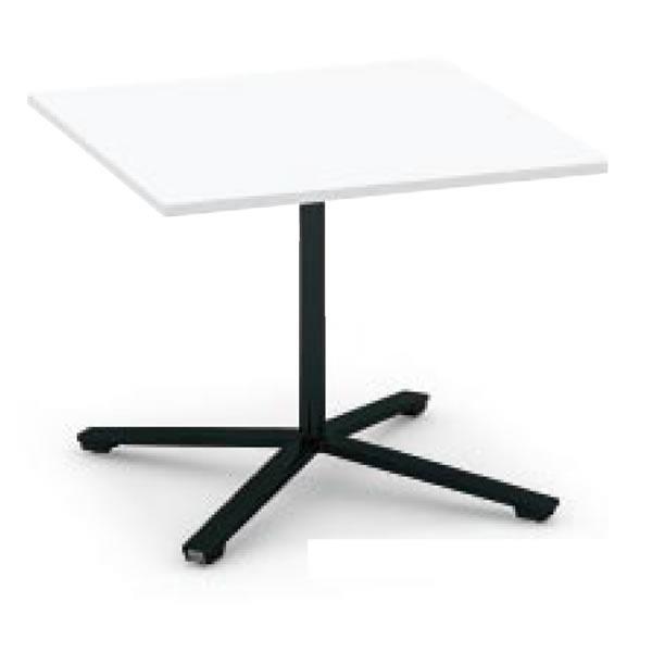 コクヨ ビエナ VIENA フラップタイプ 正方形テーブル(単柱脚) 塗装脚タイプ 幅1050×奥行1050×高さ720mm MT-V1010F MT-V1010F
