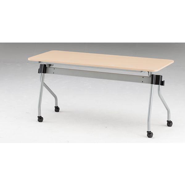 フォールディングテーブル パネル無し 幅1500mm×奥行600mm×高さ720mm NTA-N1560