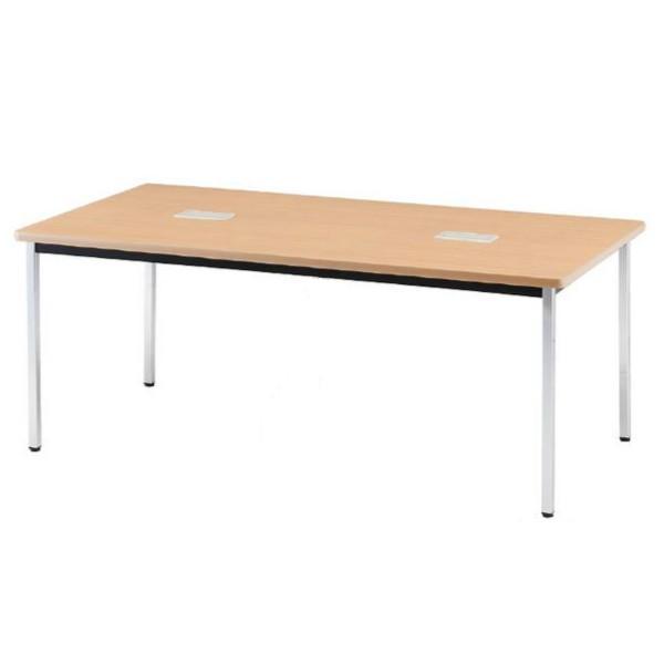 会議テーブル PTDテーブル 角脚 幅1500×奥行き900×高さ700mm 会議テーブル PTDテーブル 角脚 幅1500×奥行き900×高さ700mm PTD-1590K