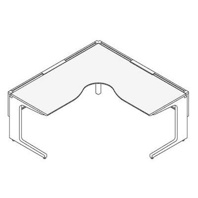 コクヨ レヴィスト デスクシステム パーソナルテーブル L型テーブル L・R共通 幅1800×奥行き1800mm デスクシステム パーソナルテーブル L型テーブル L・R共通 幅1800×奥行き1800mm SD-LVL1818L