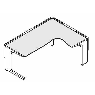 コクヨ レヴィスト デスクシステム パーソナルテーブル L型テーブル R側 幅1500×奥行き1400mm デスクシステム パーソナルテーブル L型テーブル R側 幅1500×奥行き1400mm SD-LVLR1514L