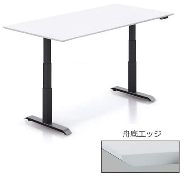 コクヨ SEQUENCE(シークエンス) マネージャー/ミーティングテーブル 配線なし 舟底エッジ 木目天板 幅1800×奥… SD-SEKS189N