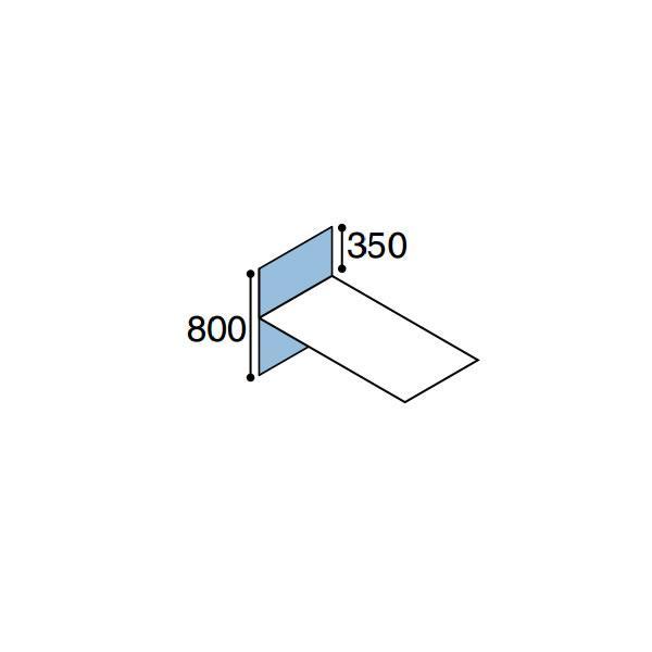 ワークフィット オプション デスクトップパネル 片面エンド用 奥行600mm ワークフィット オプション デスクトップパネル 片面エンド用 奥行600mm ワークフィット オプション デスクトップパネル 片面エンド用 奥行600mm SDV-WF68E a5f