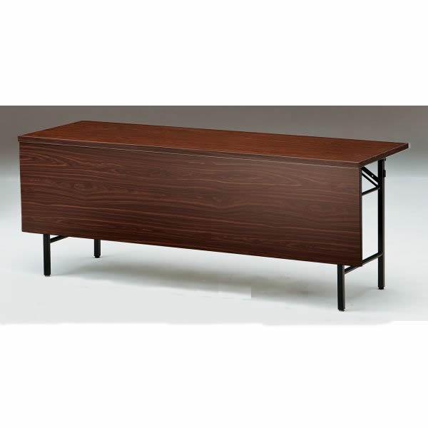 折り畳みテーブル Tシリーズ 棚無・パネル付き 幅1800×奥行600×高さ700mm T-1860PN