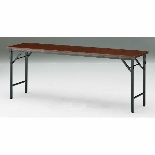 折り畳みテーブル TWシリーズ 棚無 幅1200×奥行750×高さ700mm TW-1275TN