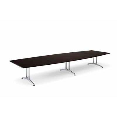 コクヨ 大型会議テーブル WT-200シリーズ 角型 突板天板 配線なし 幅4000mm×奥行き1500×高さ720mm WT-W202 WT-W202