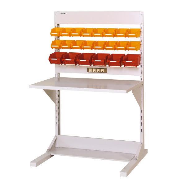 ラインテーブル 間口900サイズ 両面・連結用 幅893×奥行き1275×高さ1405mm YAMA-HRR-0913R-YC