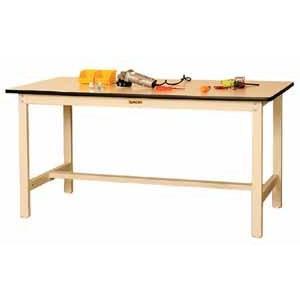 ワークテーブル 500シリーズ 固定式高さ900mm メラミン天板 幅1800×奥行き600×高さ900mm YAMA-SJMH-1860