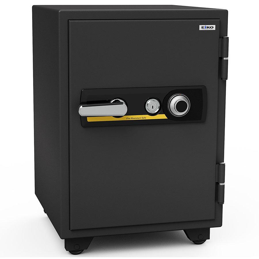エーコー 家庭用小型耐火金庫 STANDARD BSD-X (ダイヤル&シリンダー式) A4ファイル対応 1時間耐火 51L 家庭用小型耐火金庫 STANDARD BSD-X (ダイヤル&シリンダー式) A4ファイル対応 1時間耐火 51L 棚板1枚 鍵付引出し1個「EIKO」 103kg