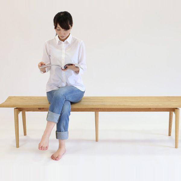 【送料込】木夢ベンチKJ「フウ」(栗) ecoshop-com 04