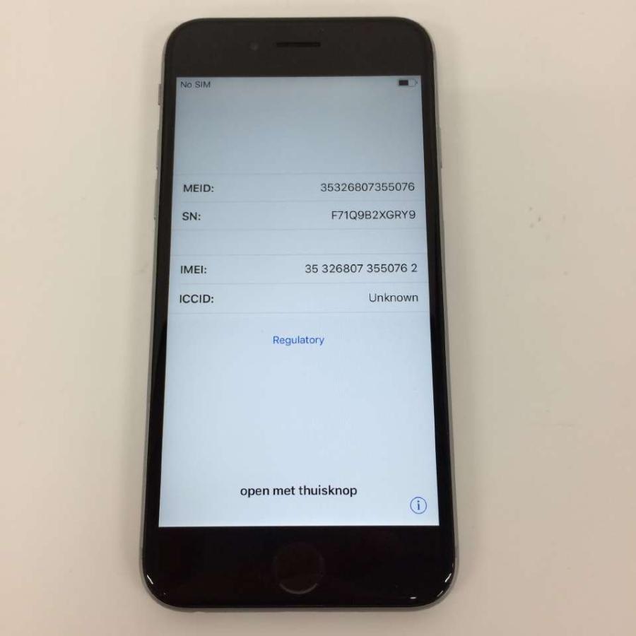 iPhone6s  docomo 64GB グレー rm-03100|ecosma|03