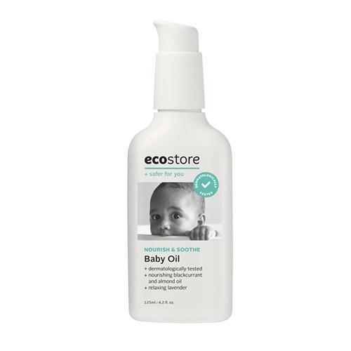 エコストア ecostore ベビーオイル <ラベンダー&ゼラニウム> 125mL 赤ちゃん 保湿 ボディケア ナチュラル