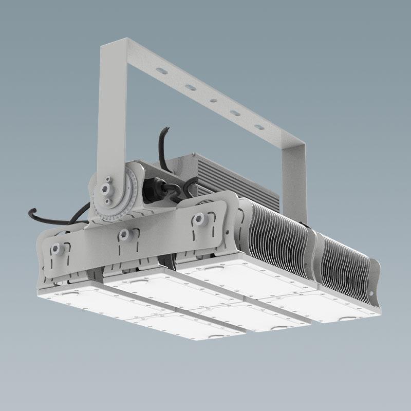 施設照明 LED 高天井 水銀灯2000w相当 一体型(アングル固定式) ハイスペックタイプ 投光器 防塵 防水 塩害 工場 倉庫 水銀ランプ バラストレス メタルハライド