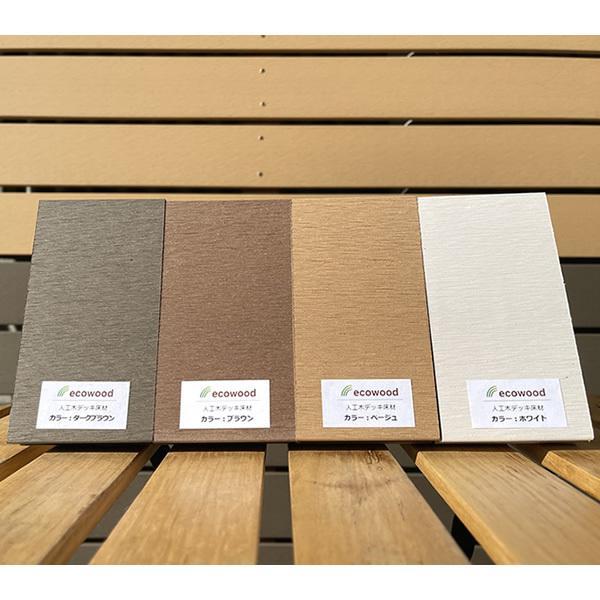 人工木ウッドデッキ用床板カットサンプル【お一人様1セット】