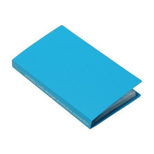 名刺ホルダー 120ポケット スカイ SOLID クリアファイル 収納 シンプル 公式通販サイト|edc