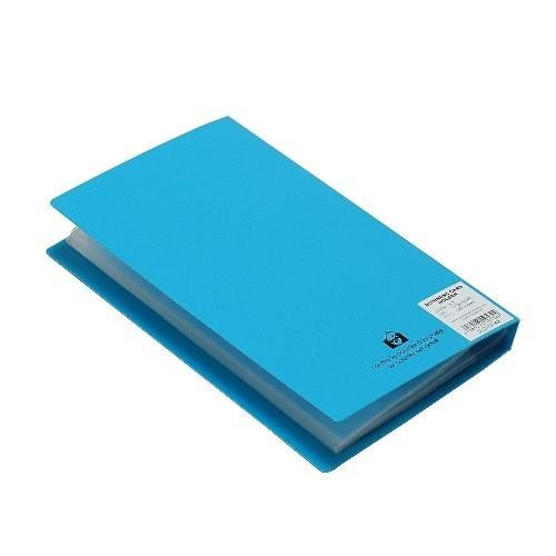 名刺ホルダー 120ポケット スカイ SOLID クリアファイル 収納 シンプル 公式通販サイト|edc|03
