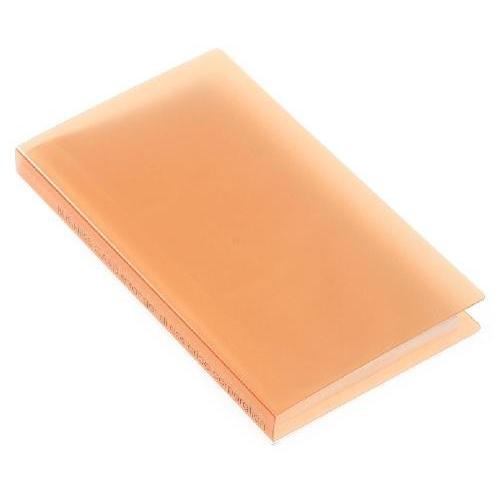 名刺ホルダー 120ポケット オレンジ TRP クリアファイル 収納 シンプル 公式通販サイト edc