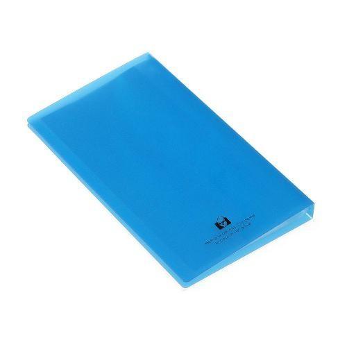 名刺ホルダー 120ポケット ブルー TRP クリアファイル 収納 シンプル 公式通販サイト|edc|03
