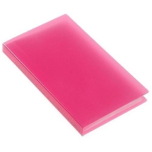 名刺ホルダー 120ポケット ピンク TRP クリアファイル 収納 シンプル 公式通販サイト|edc