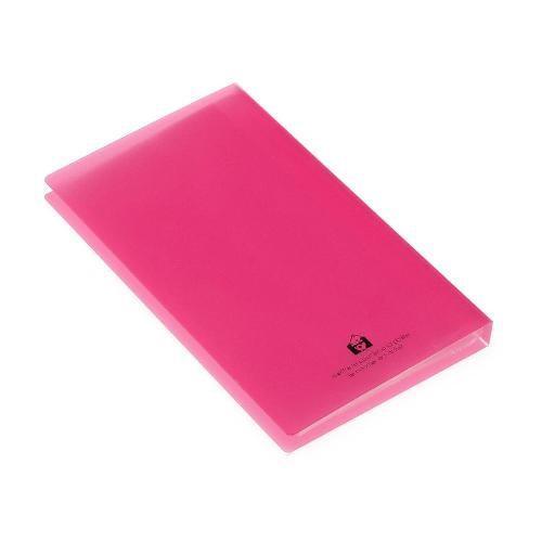 名刺ホルダー 120ポケット ピンク TRP クリアファイル 収納 シンプル 公式通販サイト|edc|03