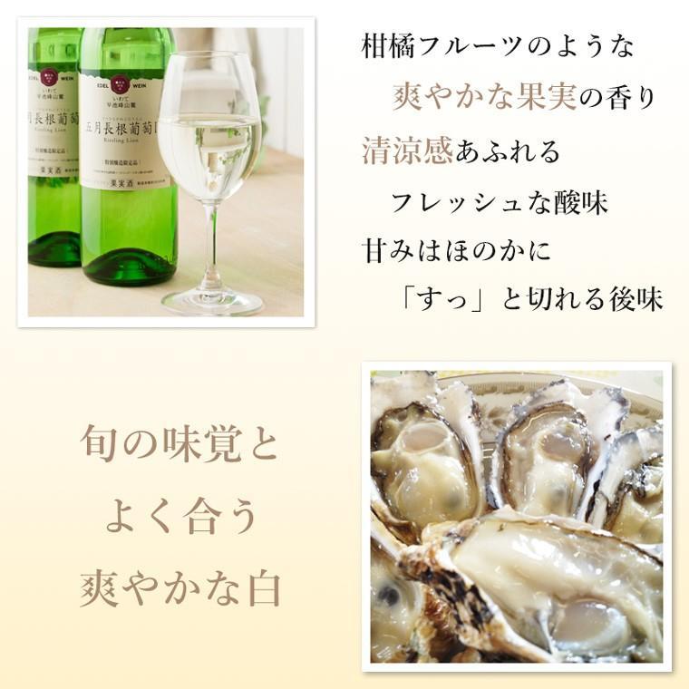 エーデルワイン 五月長根葡萄園 白ワイン やや辛口|edelwein|03