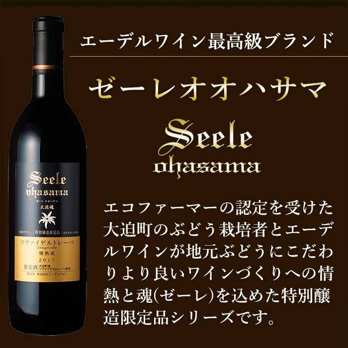 エーデルワイン ゼーレ オオハサマ ツヴァイゲルトレーベ樽熟成2017 赤ワイン フルボディ|edelwein|02