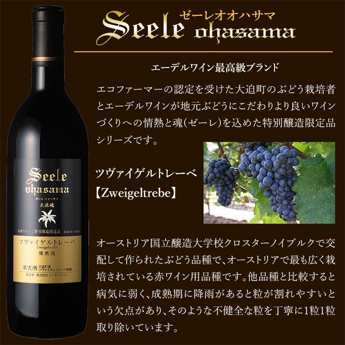 エーデルワイン ゼーレオオハサマ ツヴァイゲルトレーベ 樽熟成 2018 赤ワイン フルボディ edelwein 02
