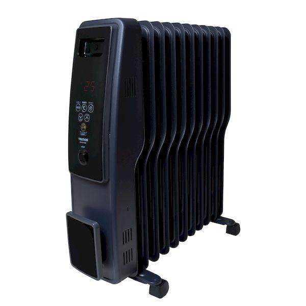 テクノス TEKNOS TOH-D1102K オイルヒーター 11枚フィン デジタル表示 黒 艶消し TOHD1102K edenki