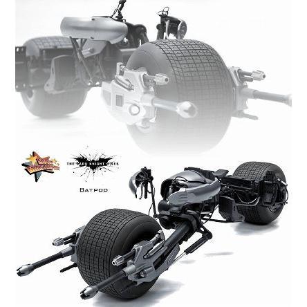 ホットトイズ ムービーマスターピース DX バットマン ダークナイト ライジング  バットポッド 1/6スケールビークル