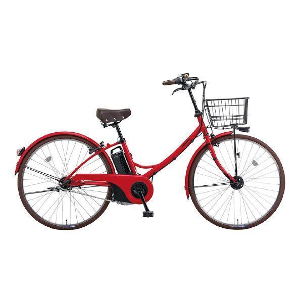 パナソニックサイクルテック 26型電動アシスト自転車 ロイヤルレッド BE-ELGL63R [BEELGL63R]