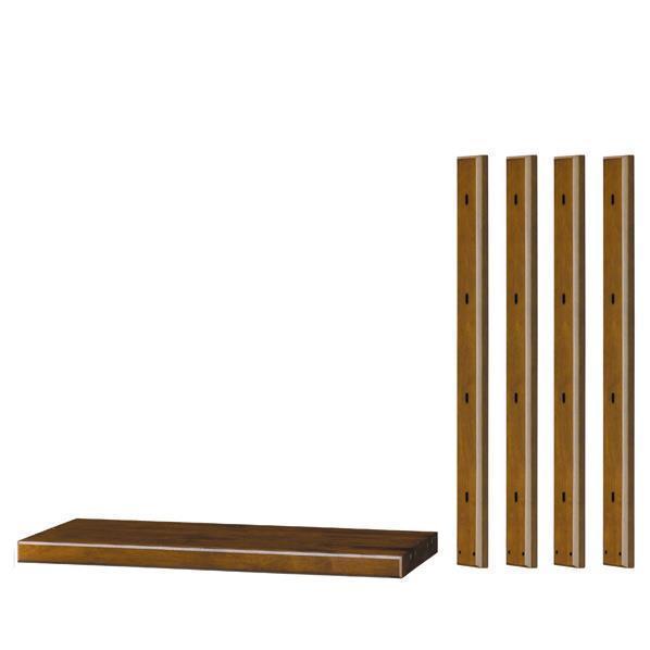 朝日木材 システムアップキット ブラウン SD-LD2PN [SDLD2PN]