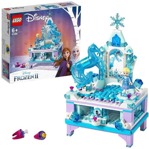 LEGO ディズニープリンセス 41168 アナと雪の女王2 エルサのジュエリーボックス
