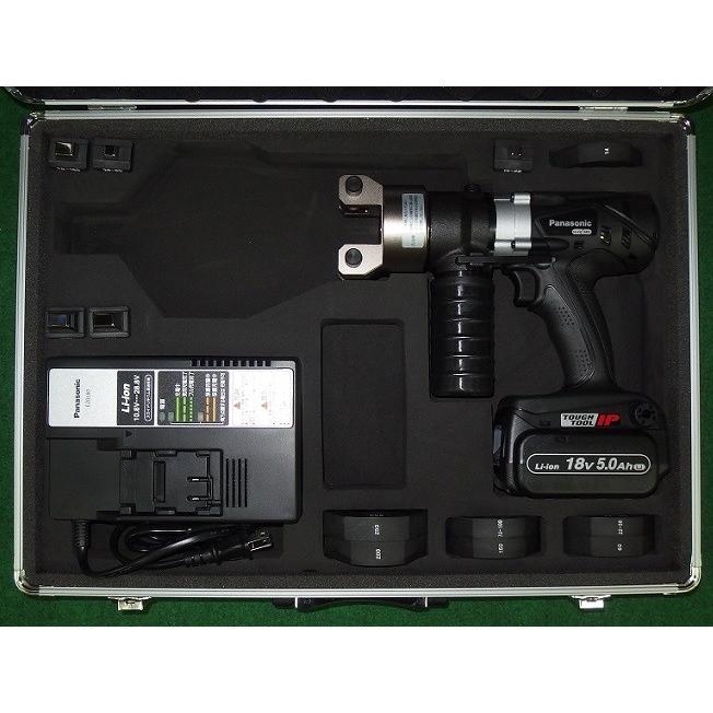 新品 パナソニック EZ46A4K-B 18V電池パック·充電器付セット 14.4V/18Vデュアル充電式圧着器:EZ46A4K-B 18V電池パック:EZ9L54 充電器:EZ0L81 新品