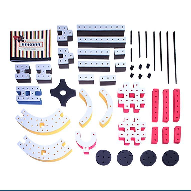 おもちゃ 知育玩具 BAKOBA バコバ 知育ブロック ビルディングボックス4  ブロック 3歳 4歳 誕生日プレゼント レゴブロック レゴ互換|edute|18
