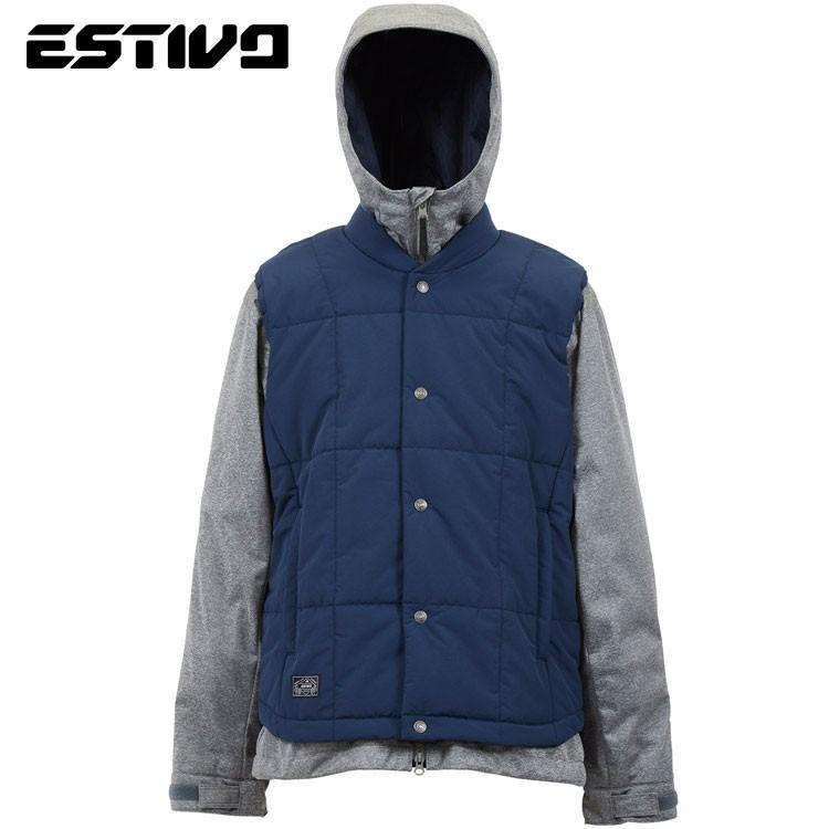 エスティボ スペリオル ジャケット EVM1801 ST(ストーン) スノーボード メンズ ESTIVO EV-SUPERIOR JKT