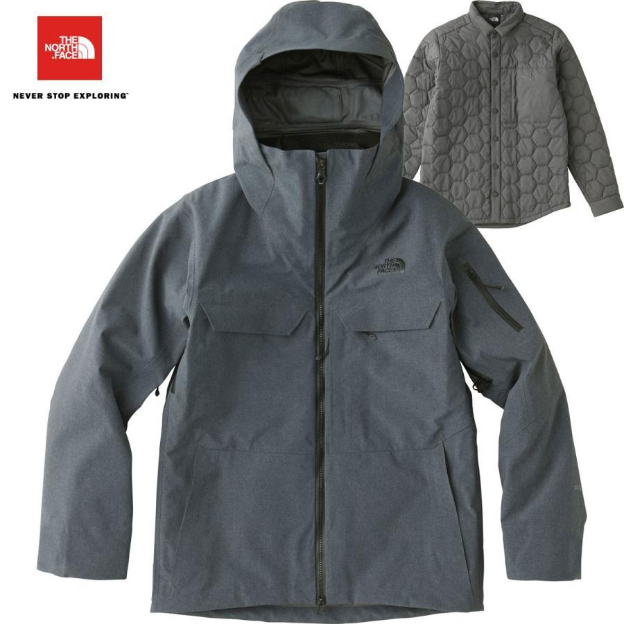 ノースフェイス パウダンス トリクライメートジャケット NS61708 Z スノーボード メンズ THE NORTH FACE Powdance Triclimate Jacket