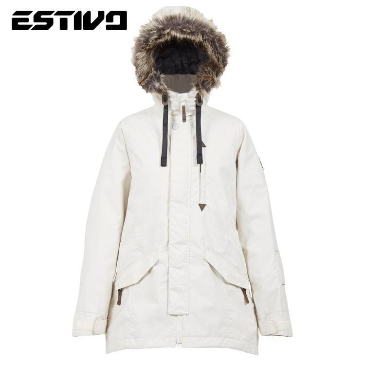エスティボ フォレスト ジャケット EVW1832 FG(フォグ) スノーボード レディース ESTIVO EV-FOREST JKT