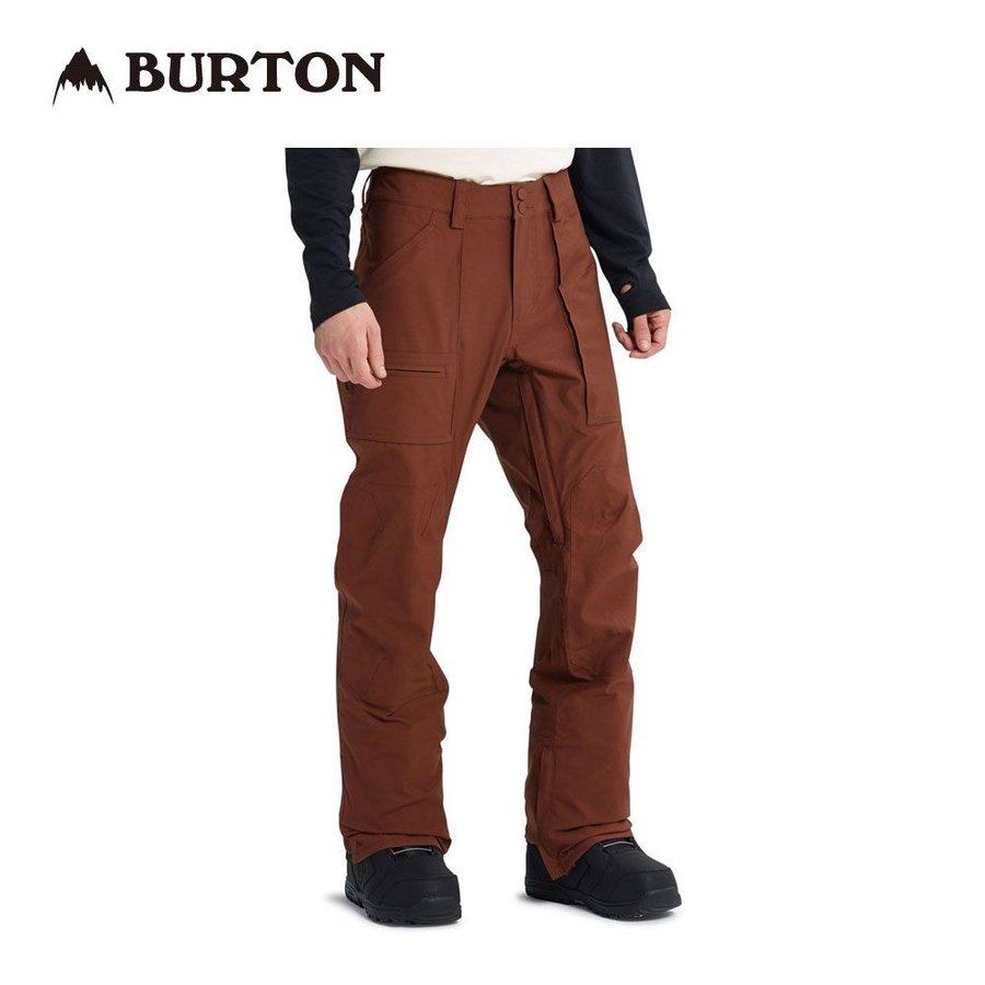 バートン Southside Pant - Slim Fit 101931 Chestnut スノーボード メンズ BURTON