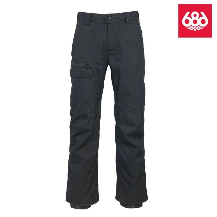 シックスエイトシックス ボイス シェル パンツ L9W215 黒 メンズ 686 Vice Shell Pant